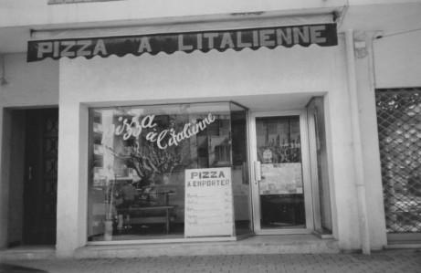 notre façade en 1989