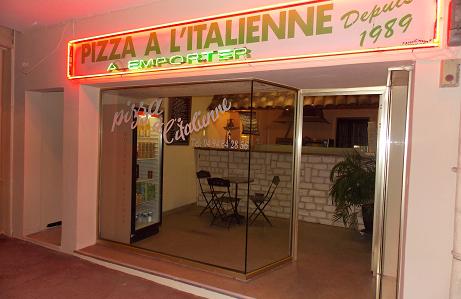 votre pizzeria à Cavalaire Sur Mer